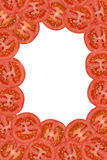 Tomato frame Royalty Free Stock Photography