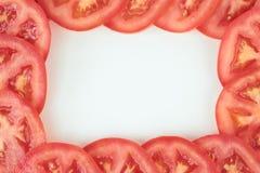 Tomato frame. Stock Images
