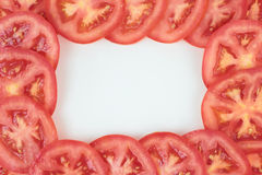 Tomato frame. Royalty Free Stock Image