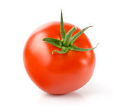 Tomato. Fresh Tomato, Isolated on White Background Royalty Free Stock Image