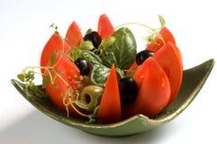 Tomato fresh salad Stock Photos
