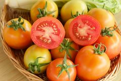 Tomato fruit vegetable fresh Royalty Free Stock Image