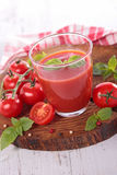 Tomato gazpacho Royalty Free Stock Images