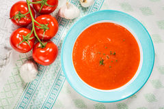 Tomato Gazpacho Soup Royalty Free Stock Images