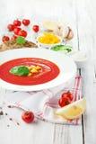 Tomato gazpacho soup Royalty Free Stock Photos