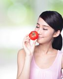 Tomato is great for health Stock Photos