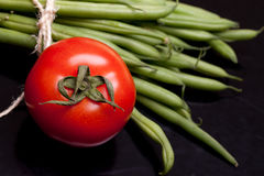 Tomato And Green Beans Stock Image