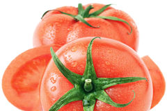 Tomato group Stock Photo