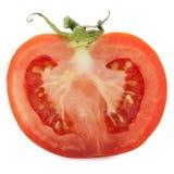 Tomato half slice Royalty Free Stock Images