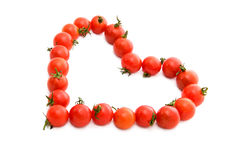 Tomato heart Stock Photos