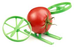 Tomato Hovercraft Royalty Free Stock Photography