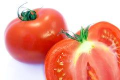 Tomato inside shot Royalty Free Stock Image