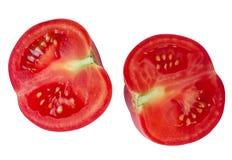Tomato isolate on white background. Stock Photos