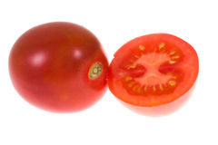 Tomato on isolated Stock Photos