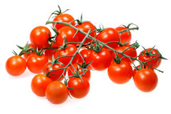 Tomato isolated on white background Royalty Free Stock Images