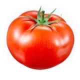 Tomato isolated on white stock photos