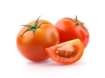 Tomato. Isolated on white background Stock Image