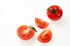 Tomato. Isolated on white background Royalty Free Stock Image