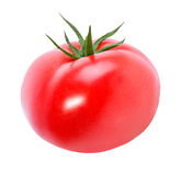 Tomato isolated on white. Background Royalty Free Stock Image