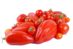 Tomato isolated on white Royalty Free Stock Photo