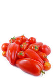 Tomato isolated on white Stock Photos