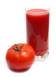 Tomato and juice Stock Photos