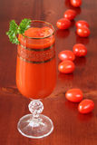 Tomato juice or Bloody Mary Stock Photo
