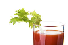 Tomato juice, bloody mary Stock Image