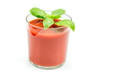 Tomato Juice and Fresh Tomatoes Royalty Free Stock Image