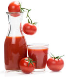 Tomato juice and fruits Royalty Free Stock Photo