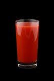 Tomato juice glass Stock Image