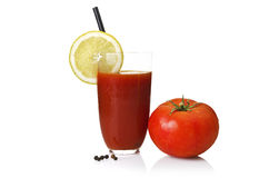 Tomato juice Stock Image