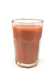 Tomato juice glass Royalty Free Stock Images