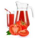 Tomato juice Royalty Free Stock Photos