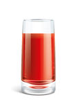 Tomato juice illustration Stock Photography