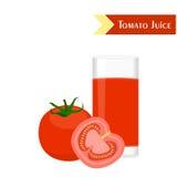 The tomato juice Royalty Free Stock Photo