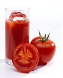 Tomato Juice In Glass Royalty Free Stock Photography