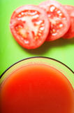 Tomato Juice Overhead Stock Photos