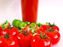 Tomato juice refreshing drink healthy drink summer drinks Royalty Free Stock Photo
