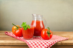 Tomato juice Stock Photography