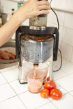 Tomato Juicer Stock Image