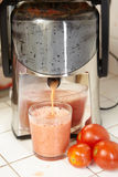 Tomato Juicer Stock Photos