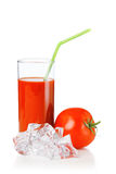 Tomato juices Stock Photos