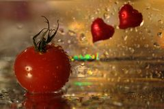 Tomato that keeps your heart healthy Royalty Free Stock Photography