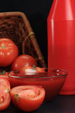 Tomato ketchup Royalty Free Stock Images