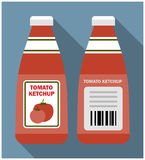 Tomato ketchup bottle Royalty Free Stock Photography