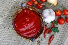 Tomato ketchup Stock Photography