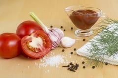 Tomato ketchup Royalty Free Stock Photo