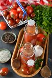 Tomato ketchup Stock Photos