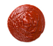 Tomato ketchup Stock Photo